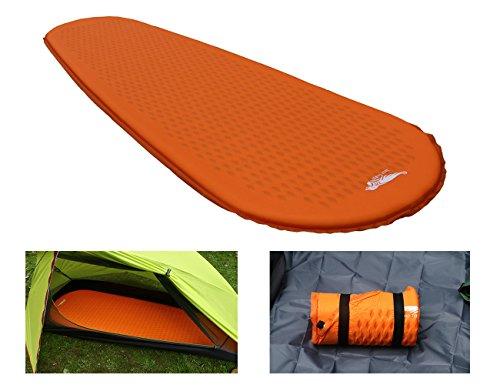 Luxe Tempo 1kg Ultraleicht Isomatte Selbstaufblasend kleines packmass Trekking Luftmatratze Camping Matratze