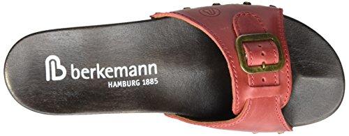 Berkemann Hamburg, Mules Femme Rouge