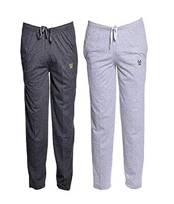 VIMAL Jonney Men's Cotton & Crush Trackpant (Multi-Colour,Large Size)