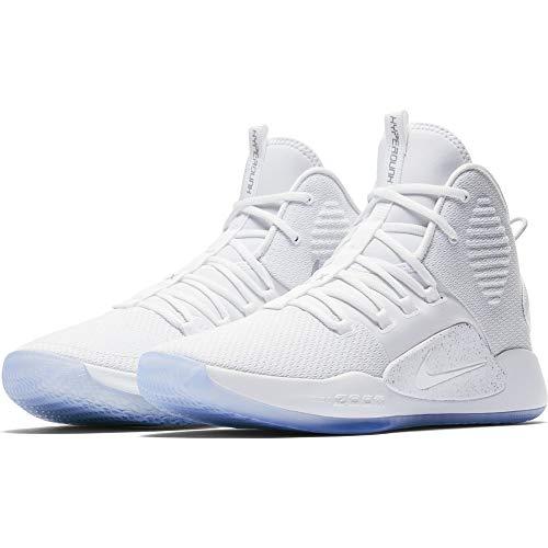 Nike Jungen Hyperdunk X Fitnessschuhe, Weiß White 101, 36 EU