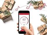 Sengled Solo Bluetooth Lautsprecher, LED Lampe, dimmbar, steuerbar via App,zum kabellosen Abspielen von Musik, warmweiß 2700K, ersetzt 60W, kompatibel mit Amazon Alexa - 3
