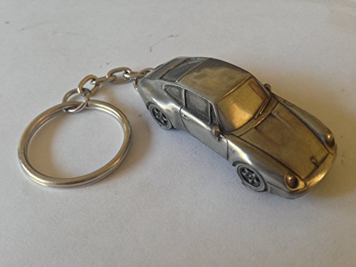 Preisvergleich Produktbild Porsche 911circa 1993(Typ 993) 3D split-ring Schlüsselanhänger Full Auto ref194