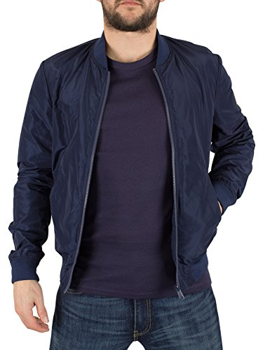 Giacca Bomber Replay L Blue