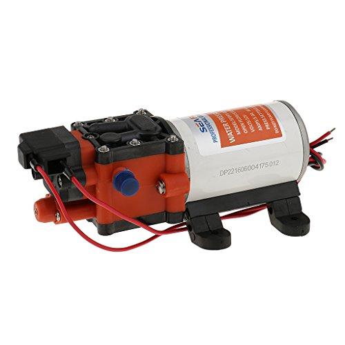 perfk DC 12V Seaflo 1,3 GPM Automatische Druckwasserpumpe Wasserpumpe für Boot, Wohnmobil, Wohnwagen, Camping, Outdoor, Garten