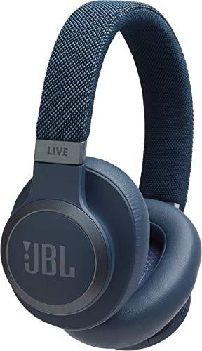 r-Ear Kopfhörer (kabellose, Bluetooth Ohrhörer mit Noise Cancelling, langer Akkulaufzeit und Sprachassistent, Unterwegs Musik hören und telefonieren) blau ()