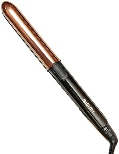 BaByliss Pure Metal ST481E – Plancha de pelo profesional (2 en 1, alisa y...