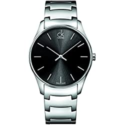 CK Men's Watch XL Analogue Quartz Stainless Steel K4D21141