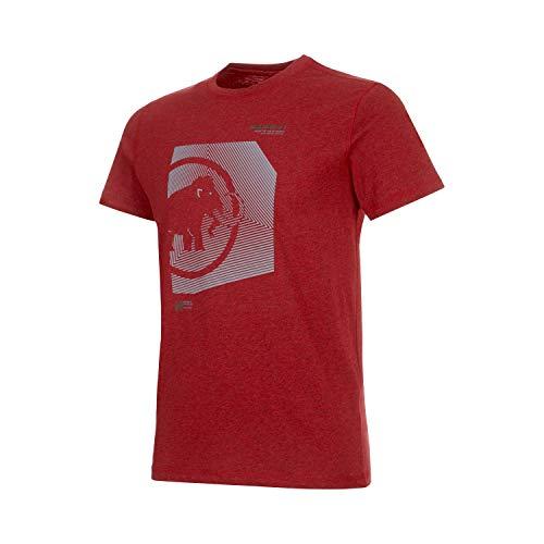 Mammut Herren Sloper T-Shirt, rot (Scooter Melange PRT2), XXL -