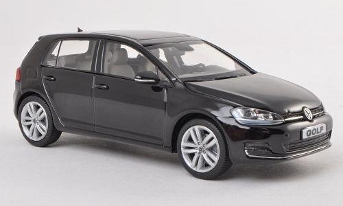 VW Golf VII, schwarz, 5-Türer , Modellauto, Fertigmodell, Herpa 1:43 (Miniatur-golf)