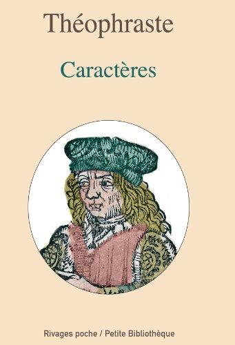 Les Caractères par Théophraste
