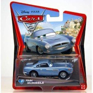 Preisvergleich Produktbild Mattel - V2799 - Disney Cars 2 Finn McMissile Die Cast Fahrzeug Nr. 02