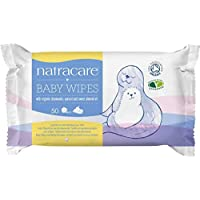 Natracare - Lingettes en coton bio pour bébé