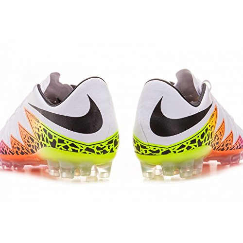 Nike Hypervenom Phinish AG-R, Chaussures de Football Homme, Multicolore Blanc