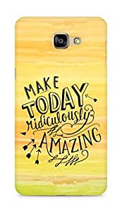 AMEZ make today ridiculously amazing Back Cover For Samsung Galaxy A9