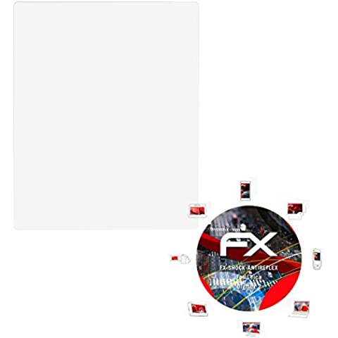 3 x atFoliX Anti-Choque Lámina Protectora de Pantalla Leica Digilux 2 Antichoque Película Protectora - FX-Shock-Antireflex