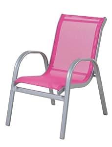 Siena garden 319232 lars fauteuil enfant acier aluminium - Amazon fauteuil enfant ...