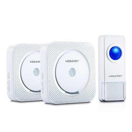 Wasserdicht Wireless Türklingel Kabellose Funkklingel Set Sender Empfänger EU DE