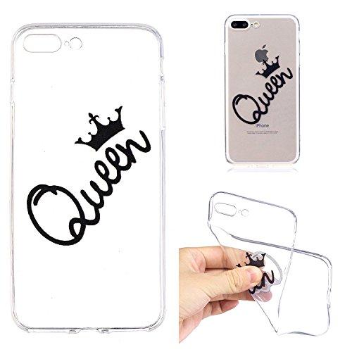 inShang iPhone 6 (6s) 4.7inch custodia cover del cellulare, Anti Slip, ultra sottile e leggero, custodia morbido realizzata in materiale del TPU, frosted shell , conveniente cell phone case per iPhone Queen