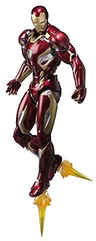Bandai - 96314-7 - Figurine d'Iron Man Mark XLV - Personnage Marvel - Extrait de Avengers l'Ere d'Ultron