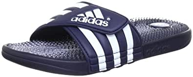 adidas Men's Swimming Santiossage Slides, New Navy/Clear/White, 15 UK
