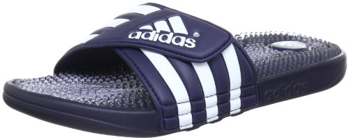 adidas Santiossage Qd, Chaussures de Plage et Piscine Mixte Adulte Bleu (new Navy / Clear / White)