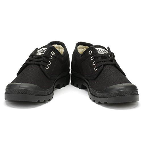 Palladium Unisex-Erwachsene Pampa Oxford Originale Sneaker black-black (75331-060)