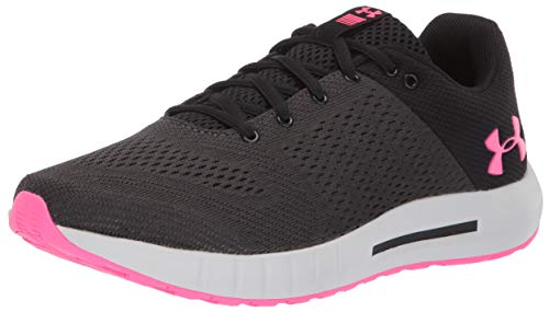 Under Armour Micro G Pursuit, Scarpe Running Donna, Nero (Black/Elemental/Mojito Pink 005), 38.5 EU