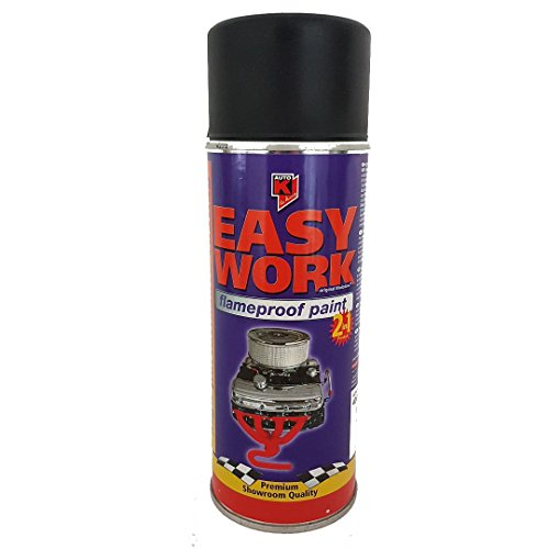 Preisvergleich Produktbild Easy Work Flameproof paint Black devil (400ml)