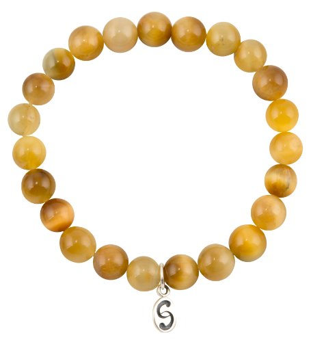 apoccas-semi-precious-crystal-bracelet-agni-tigers-eye-amber-gold-8-mm-diameter-sterling-silver-tag-