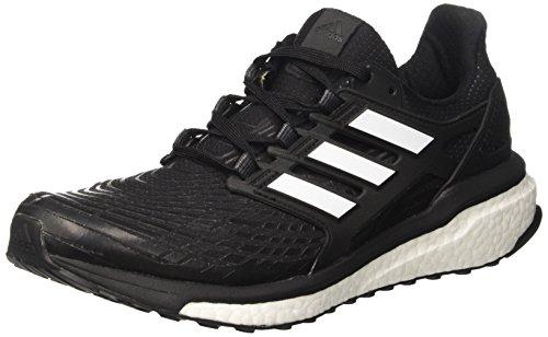 Adidas Herren Energy Boost Laufschuhe, Schwarz (Core Black/footwear White/footwear White) , 46 EU