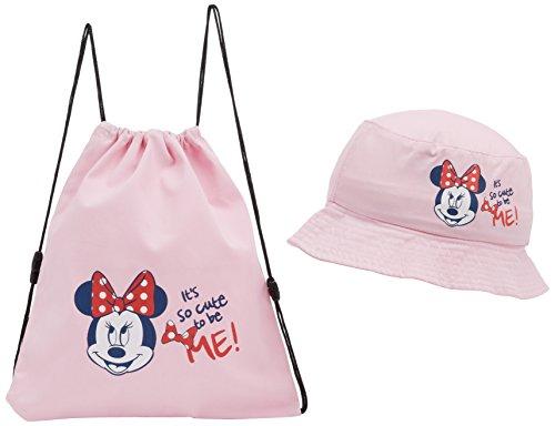 Disney minnie cappello da sole bambine e ragazze, rosa (pink) 50 cm