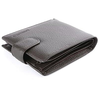 XCSOURCE Billetera Hombre Cuero Original Sujetadora Tarjeta Crédito Identificación Dinero MT200
