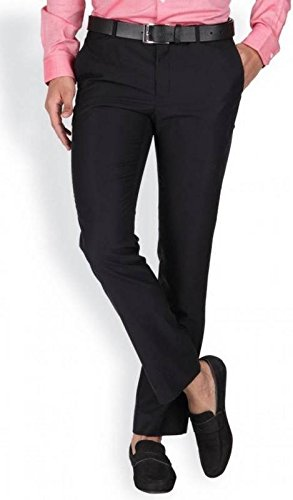 Try This Men's Formal Trousers Black_30