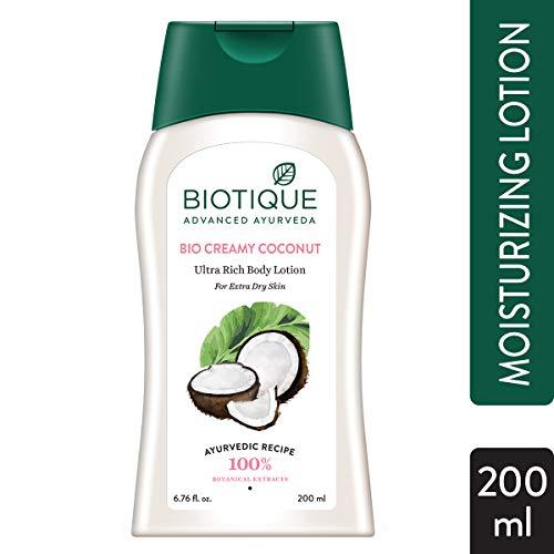 Biotique Bio Creamy Coconut Ultra Rich Body Lotion, 200 ml