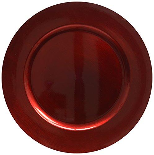 Decoris 515226 Assiette Décorative en Plastique