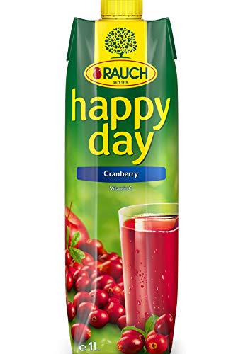 Rauch Happy Day Cranberry, 6er Pack (6 x 1 l Packung)
