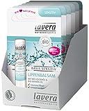 lavera Lippenbalsam Basis Sensitiv ∙ Bio Jojoba ∙ Für zarte Lippen ∙ Bio Pflanzenwirkstoffe ✔ Naturkosmetik ✔ Natural & innovative ✔ Lippenpflege 6er Pack (6 x 4,5 g)
