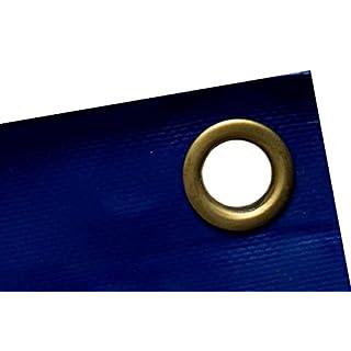 ALLROUND PVC Plane blau 6x8m