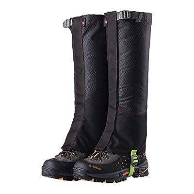 XIAXIACP Skischuhe Gamaschen, Desert Gamaschen Desert Abriebfeste Oxford Outdoor Warme Schuhe Decken Reinigung für Bergwandern Wandern Klettern,B von XIAXIACP auf Outdoor Shop