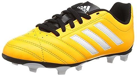 adidas Unisex-Kinder Goletto V Fg Fußballschuhe, Orange (Solar Gold/Ftwr White/Core