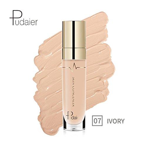 Anti-cernes, Malloom Concealer Oeil de visage Fondation Surligner le contour Stick liquide Maquillage Crème naturelle (07#)