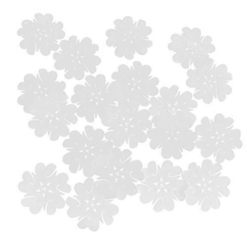 20pcs Clip Presilla De Lazo Del Globo Clip De Hebilla De Plástico Transparente Para Una Fiesta De Bodas Decoración