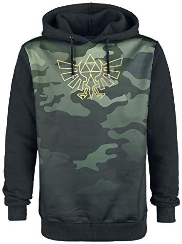 The Legend of Zelda Sweatshirt Blackwoods Camo Men's