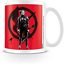 "Taza The Hunger Games/Los Juegos del Hambre ""Mockingjay - part 2/Sinsajo parte 2 - Katniss at War/en guerra"""