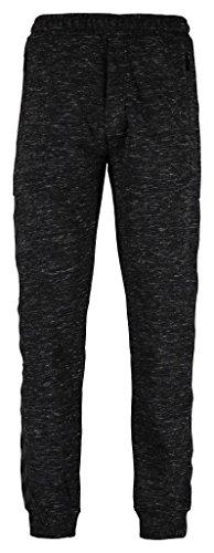 hummel Herren Pants Classic BEE JESS Black Melange, XL