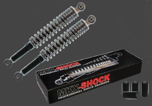 MKX-Stossdämpfer universell schwarz 280 mm - 1 Satz incl. 4 Stellhülsen