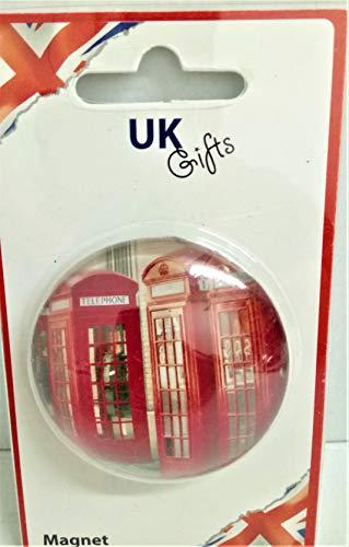 Cabina teléfono Reino Unido Londres Imán regalo