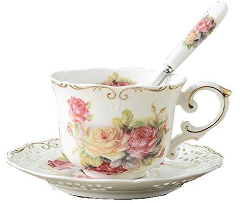 Royal Rosso Rose Chintz in porcellana tazza assortiti con oro