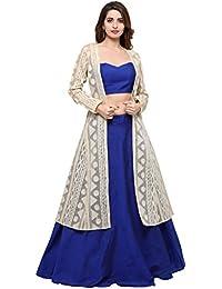 515ce2488a Amazon.in: Cotton - Lehenga Cholis / Ethnic Wear: Clothing & Accessories