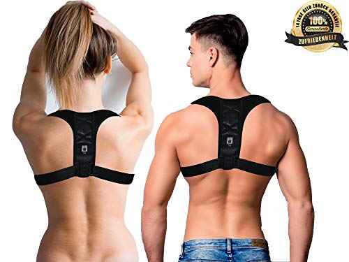 Rückenstütze   Haltungskorrektur   Rücken Geradehalter   Haltungstrainer   Bandage Für Geraden Rücken   der Rückenstabilisator verbessert die Körperhaltung -